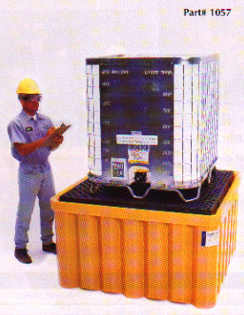 Ultra-IBC SpillPallet All-Poly Model